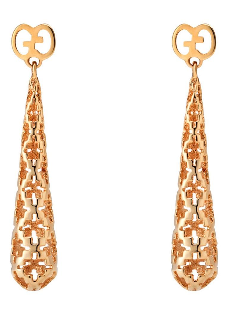 Gucci Diamantissima oorbellen van 18k rosegoud YBD341254002