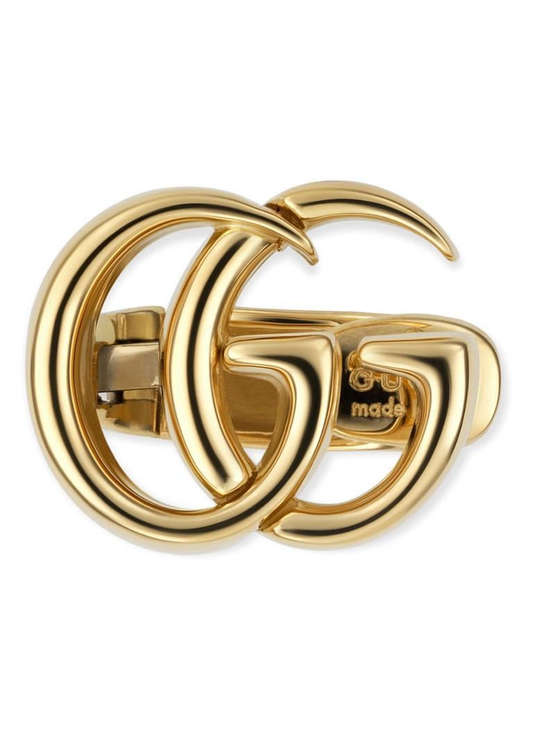 Gucci Double G oorclip van 18k geelgoud J85008000