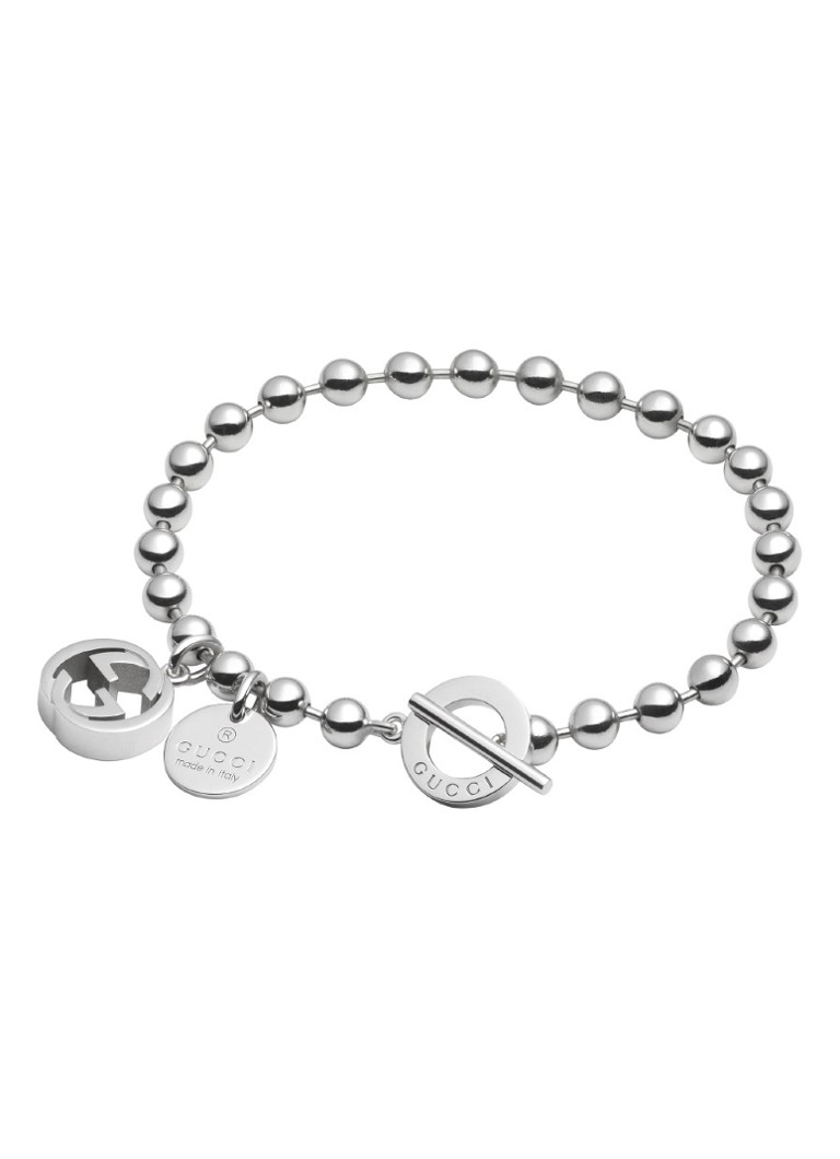 Gucci Boule armband van zilver YBA390954001