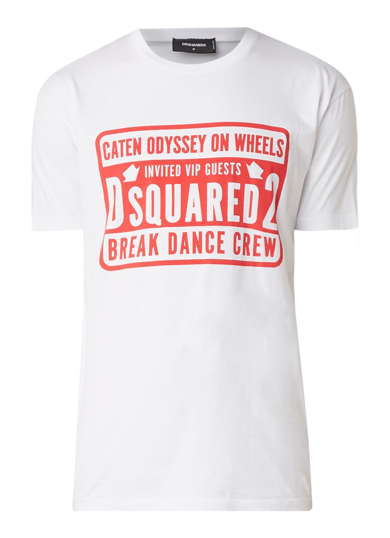Dsquared2 Breakdance T-shirt met opdruk