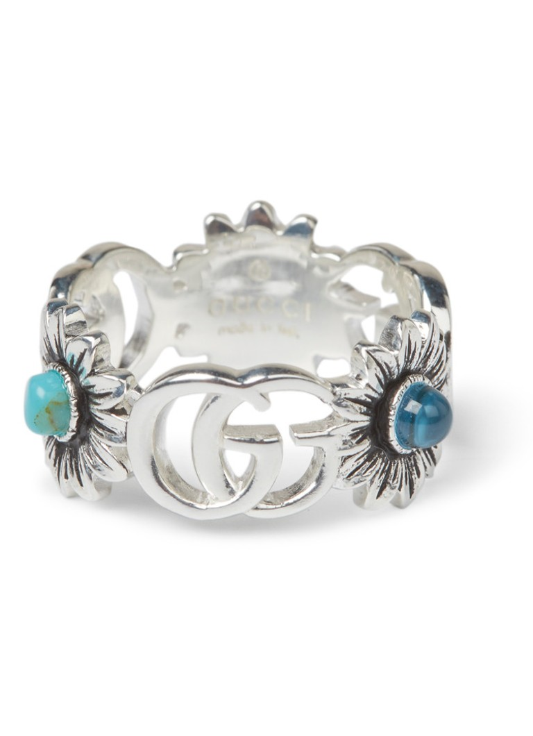 Gucci Double G ring van sterling zilver YBC527394001