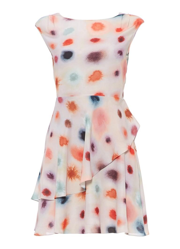 Reiss Lora jurk met gelaagde look