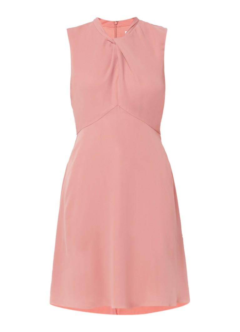 Reiss Beauvoir A-lijn jurk met gedrapeerde halslijn