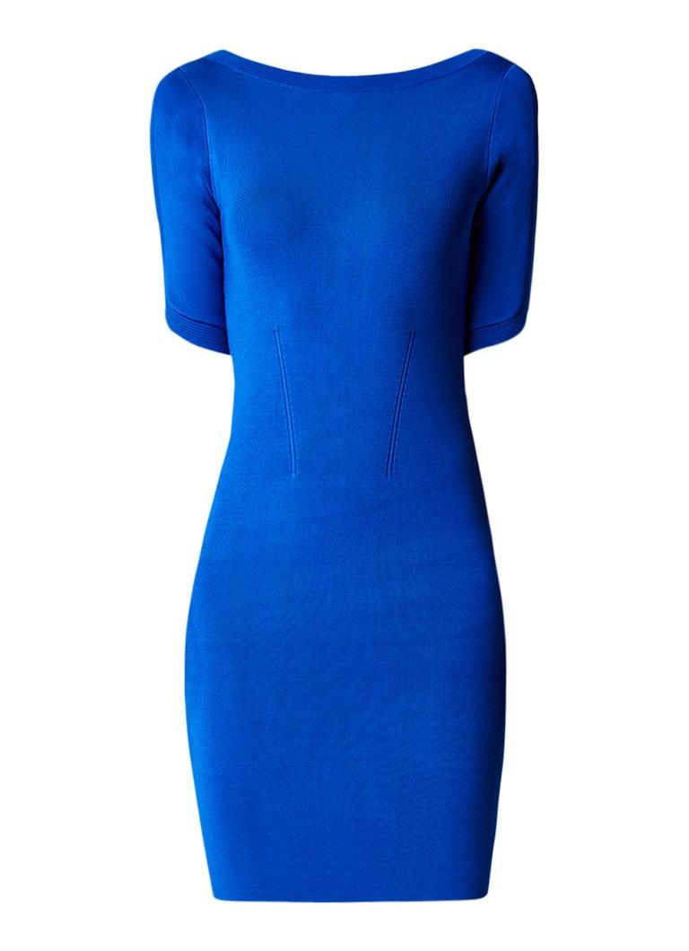 Reiss Lidia jurk van jersey kobaltblauw