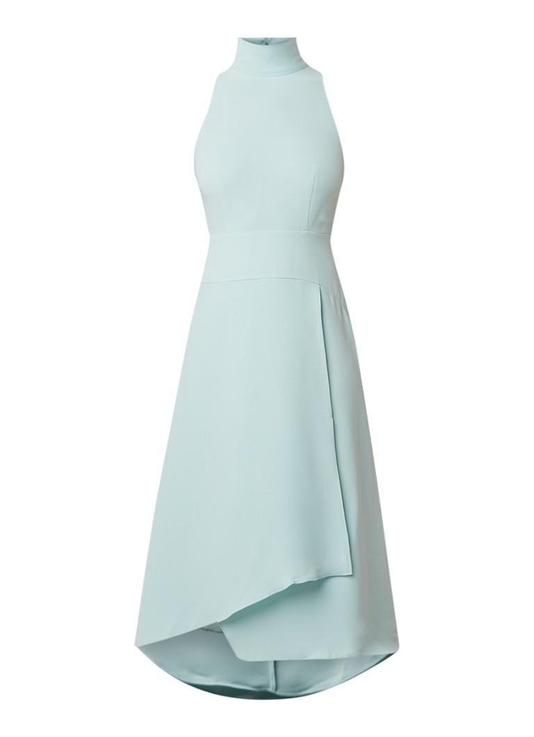 Reiss Doriana midi-jurk met rugdecolleté mint