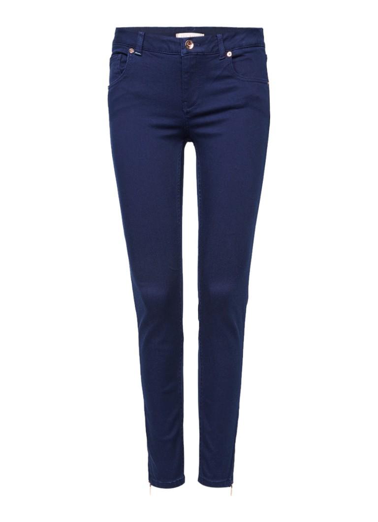 Ted Baker Dariaas high skinny cropped jeans met ritsdetails