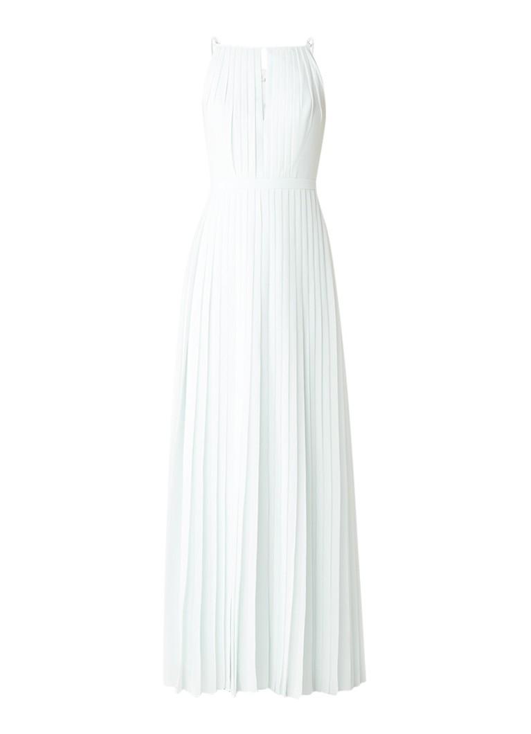Ted Baker Ceryee maxi-jurk met plooien en keyhole mint