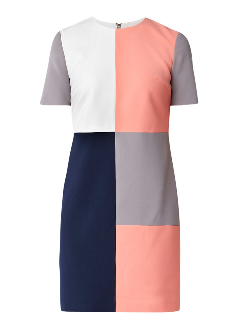 Ted Baker Ardell tuniekjurk met colour blocking roze