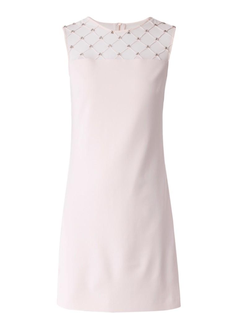 Ted Baker Danyel semi-transparante jurk met strass lichtroze