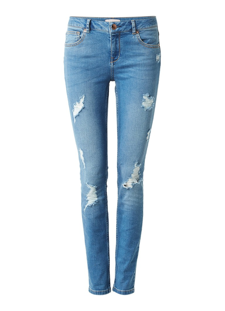 Image of Ted Baker Kimle high rise skinny cropped jeans