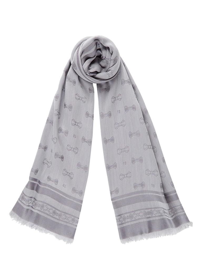 Ted Baker Aubre sjaal in wolblend met zijde 180 x 80 cm