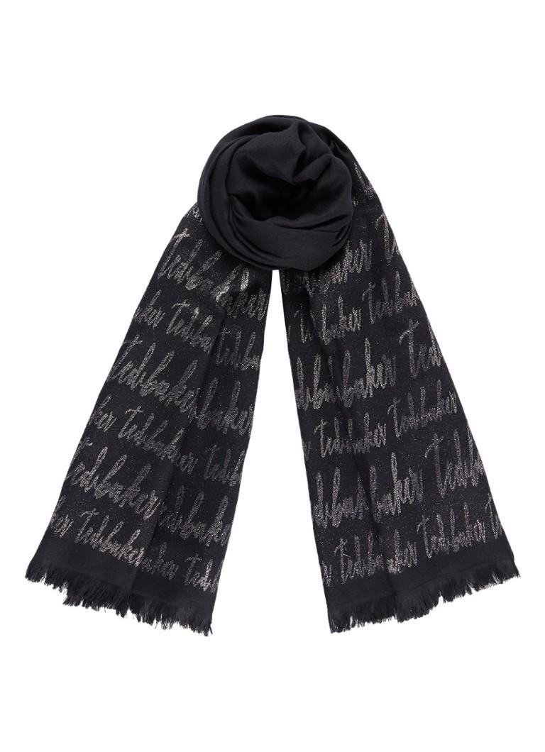 Image of Ted Baker Teddii sjaal met lurex 210 x 75 cm