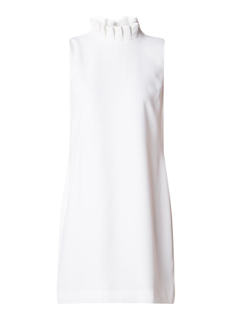 Ted Baker Miyah midi-jurk van crêpe met ruches wit