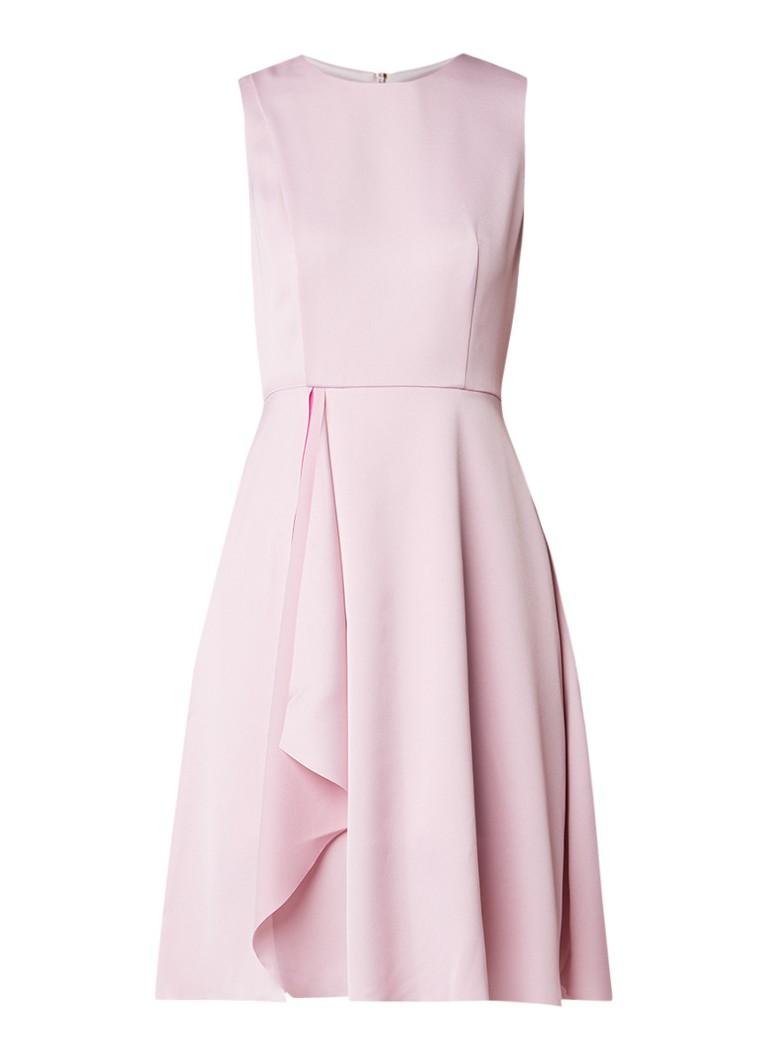 Ted Baker Winni Front Fold midi-jurk lichtroze