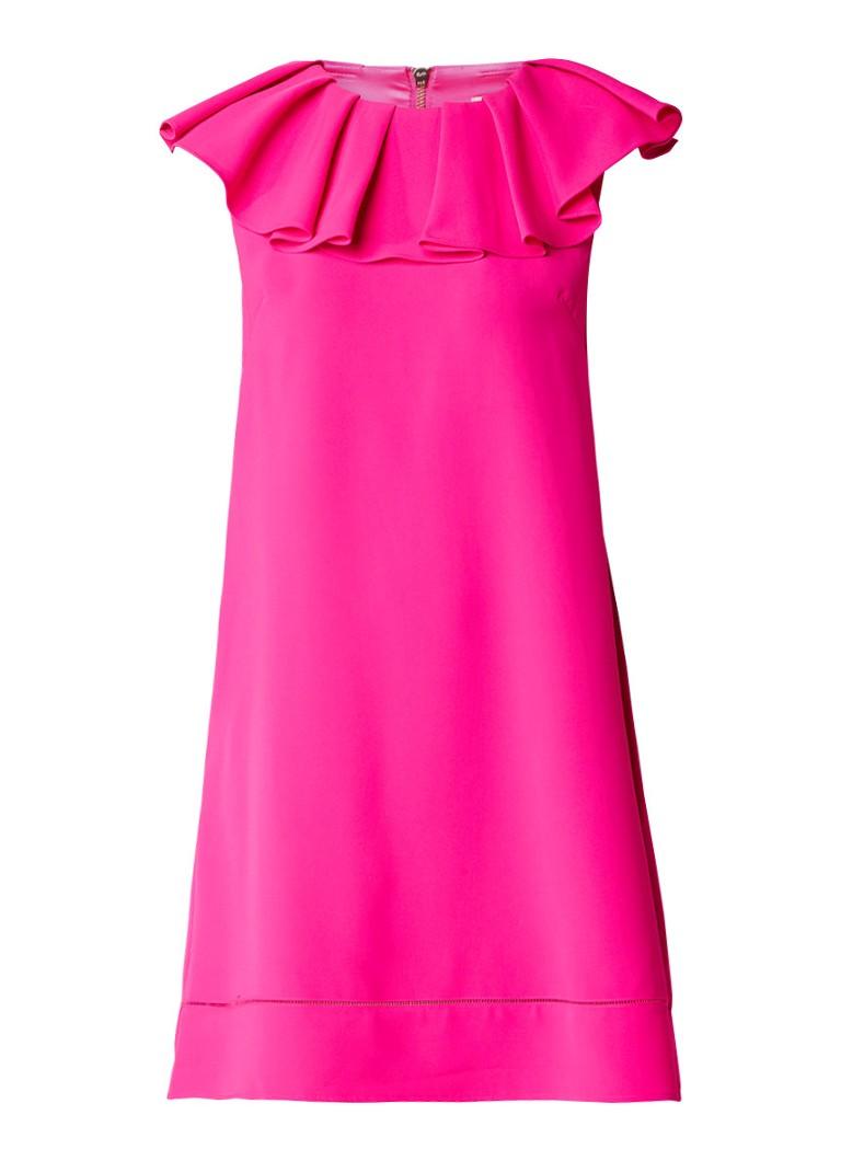 Ted Baker Clarees A-lijn jurk met volant roze