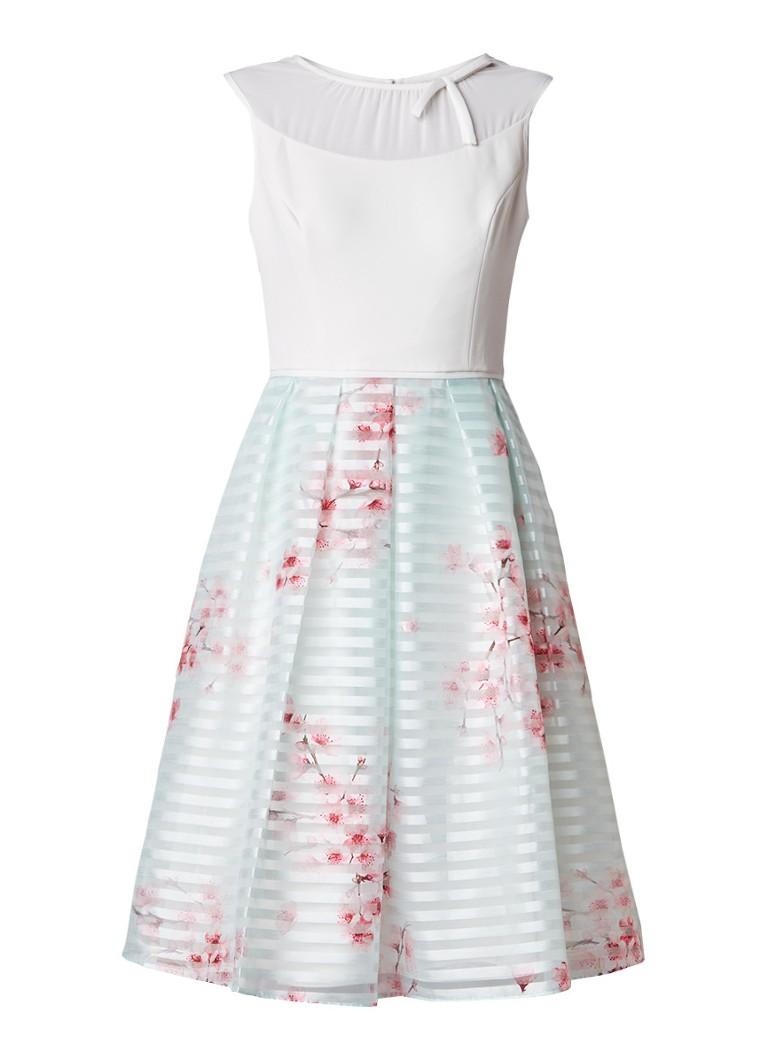 Ted Baker Idola A-lijn jurk met bloemendessin mint