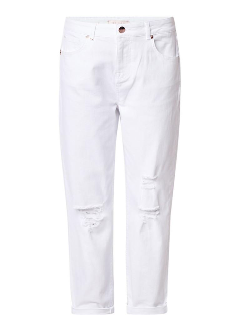 Ted Baker Arriana slim fit jeans met lichte wassing