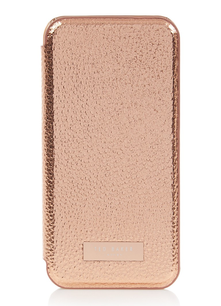 Image of Ted Baker Cedar telefoonhoes met spiegel voor iPhone 8 en 7/6/6S