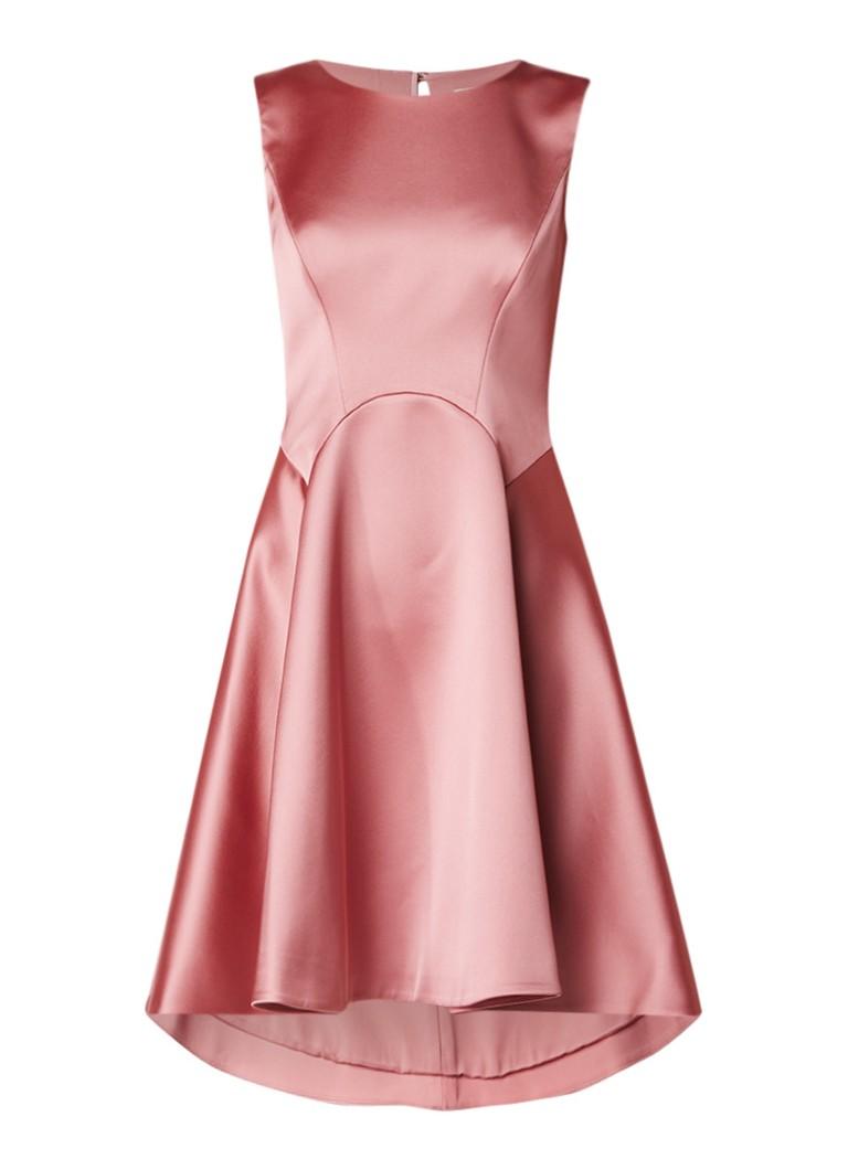 Ted Baker Rhubi mouwloze A-lijn jurk met strikdetails roze