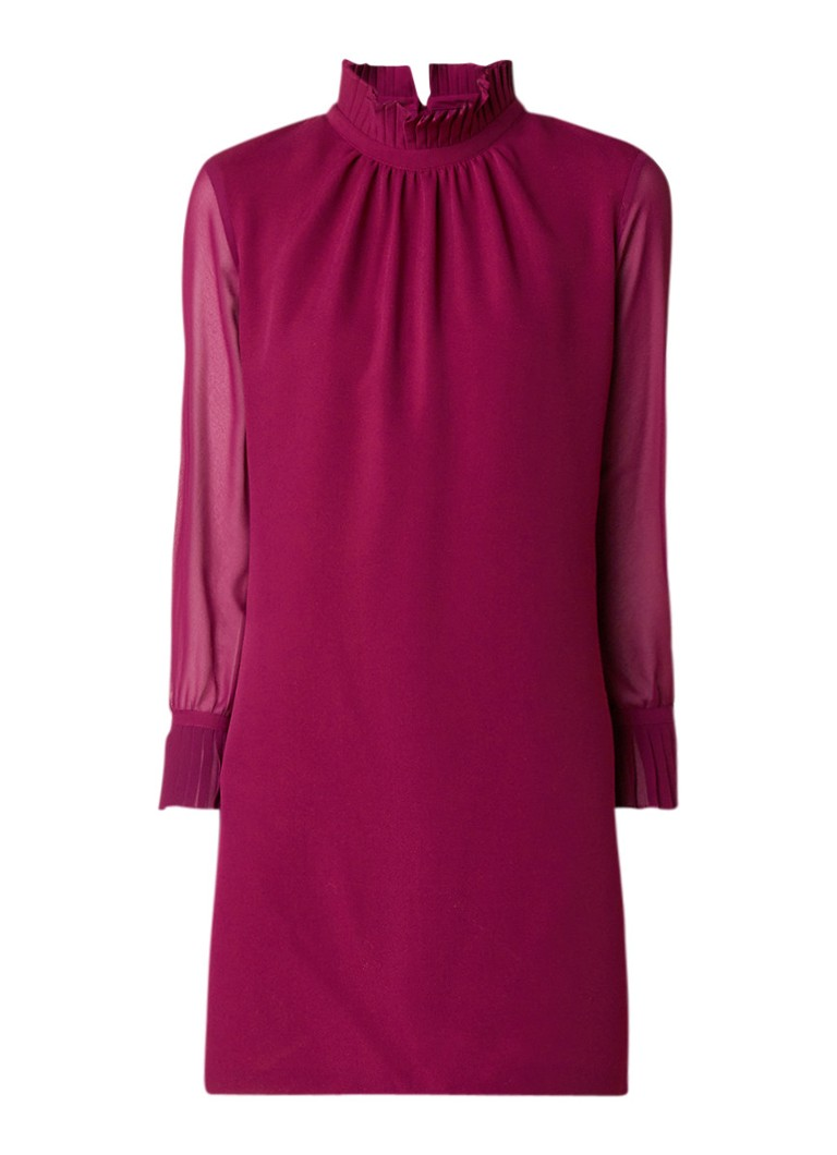 Ted Baker Bibii mini-jurk met geïntegreerde shorts bordeauxrood