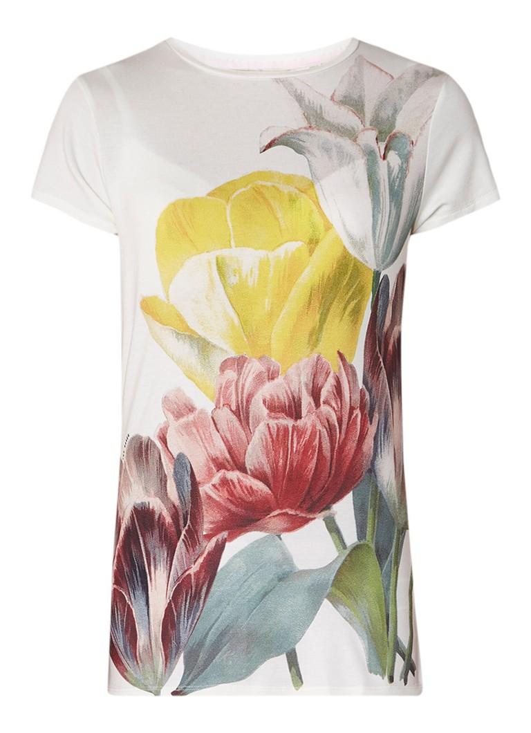 Ted Baker Pippie T-shirt met bloemenprint