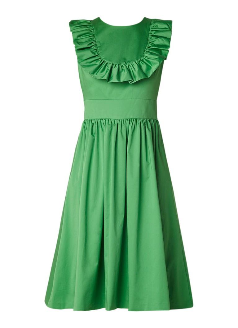 Ted Baker Awrah A-lijn jurk met ruches groen