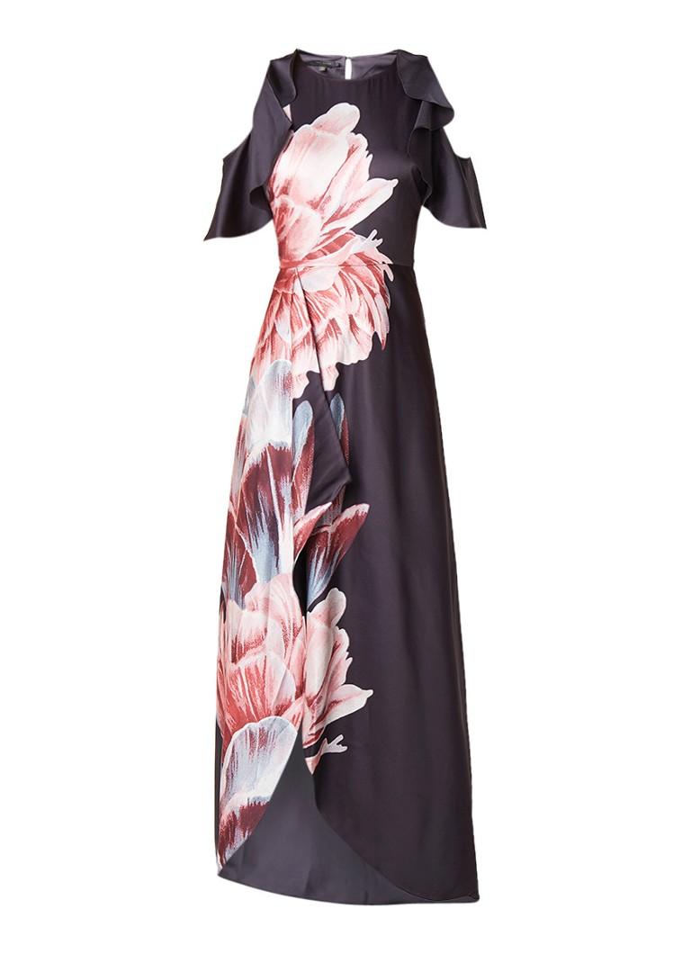 Ted Baker Ulrika maxi-jurk met bloemenprint zwart
