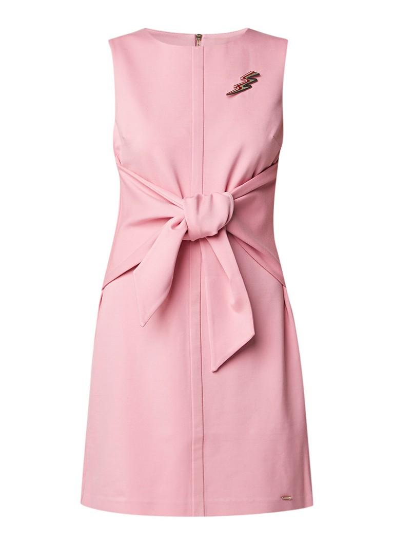 Ted Baker Papron mouwloze mini-jurk met strikdetail roze