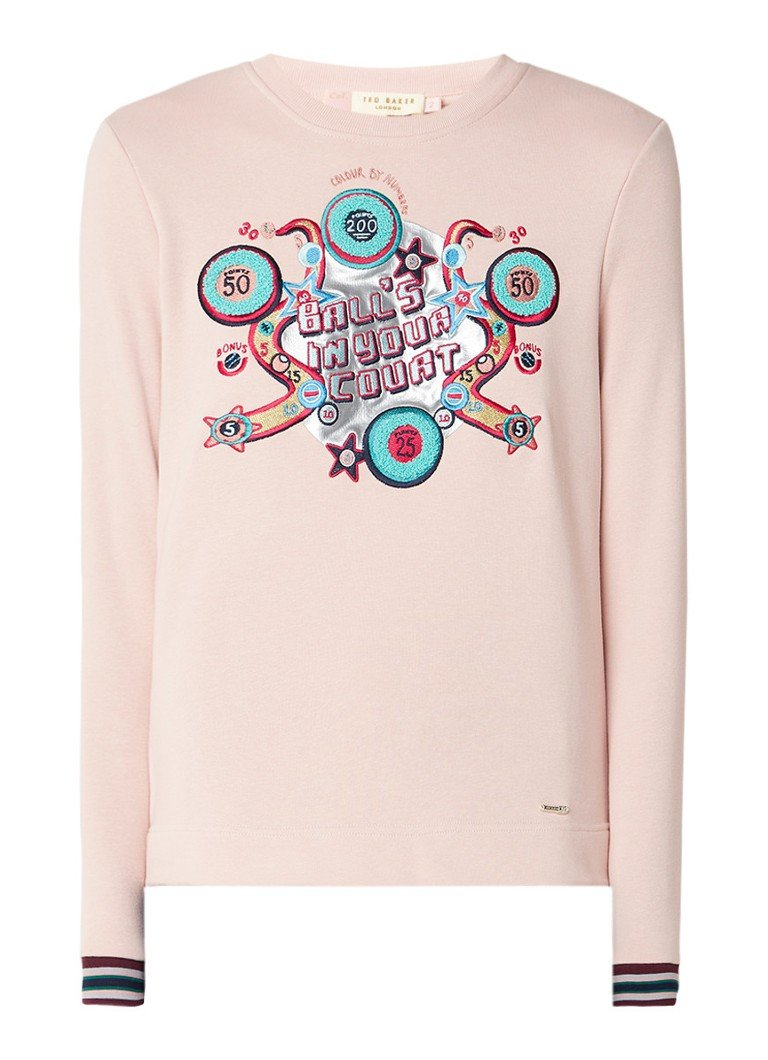Ted Baker Aimme sweater met borduring
