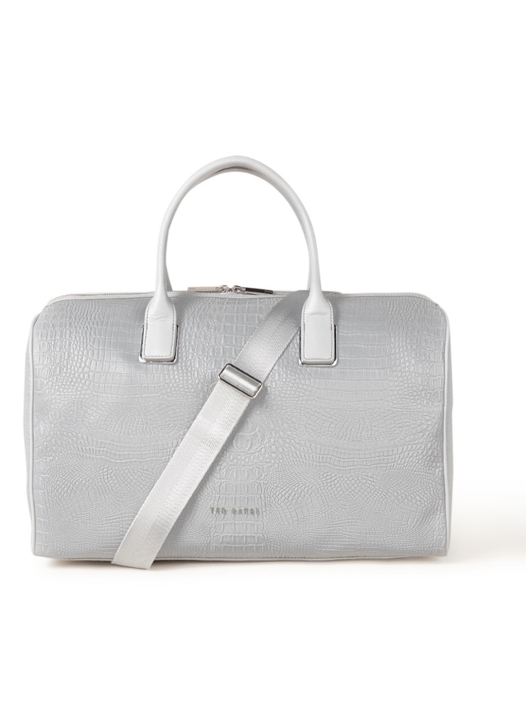 Image of Ted Baker Conneli weekendtas met reflecterende finish