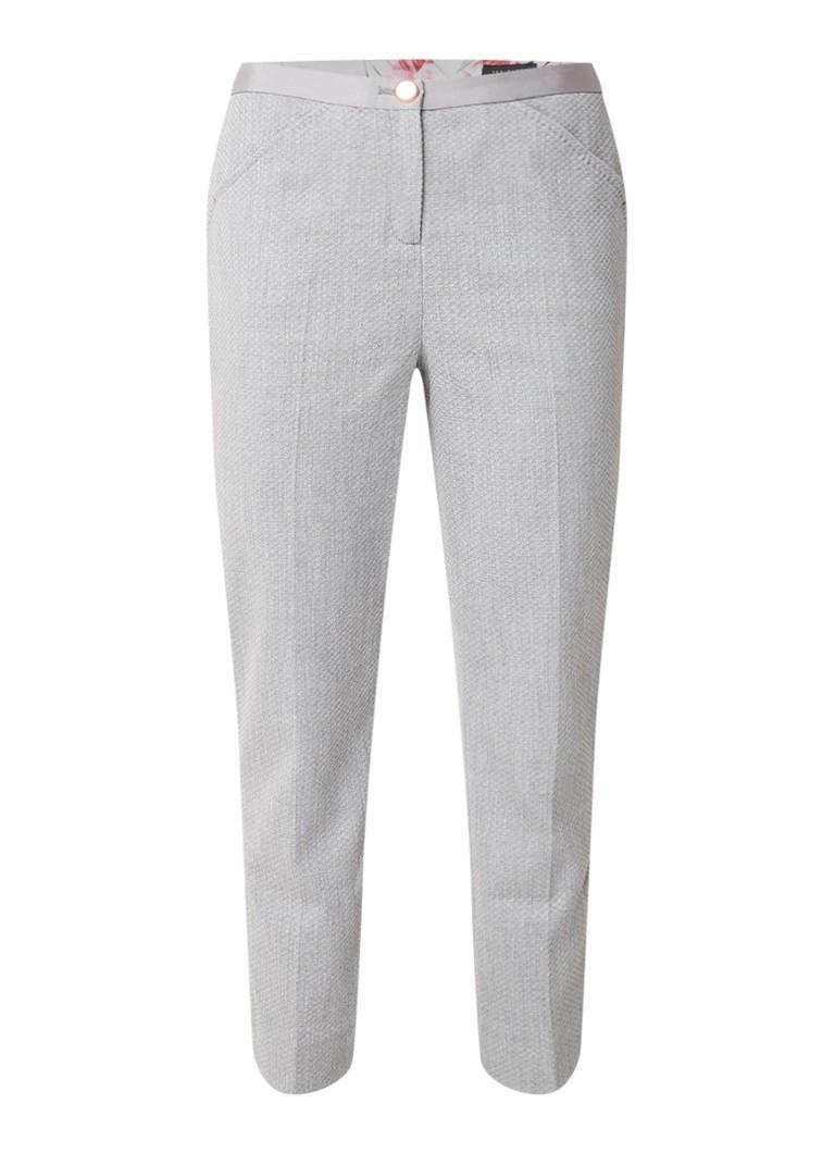 Ted Baker Daizit skinny fit cropped pantalon met ingeweven structuur