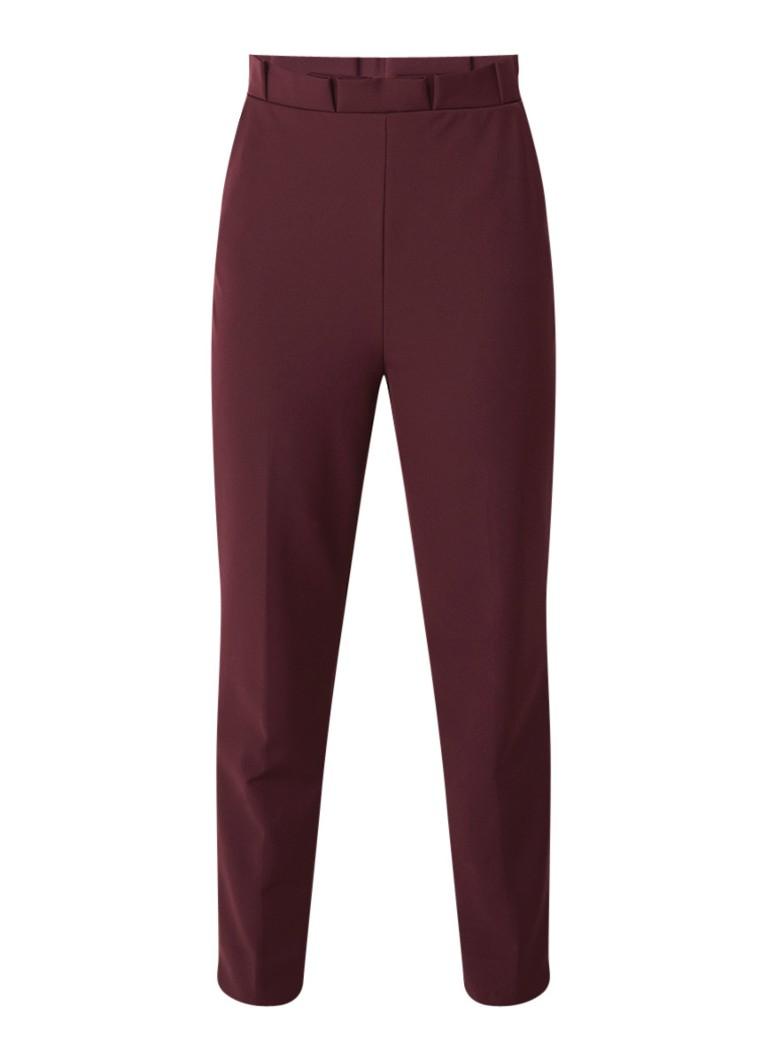 Ted Baker Maggit skinny fit pantalon met plissé detail