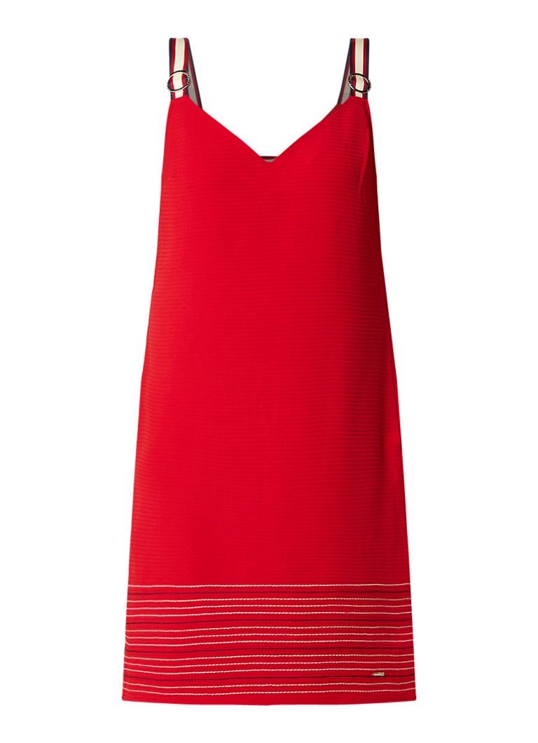 Ted Baker Lanchal jersey jurk met gesp detail rood