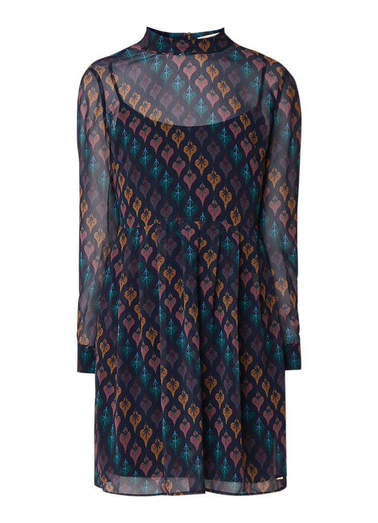 Ted Baker Allyy mini-jurk met hartenprint donkerblauw