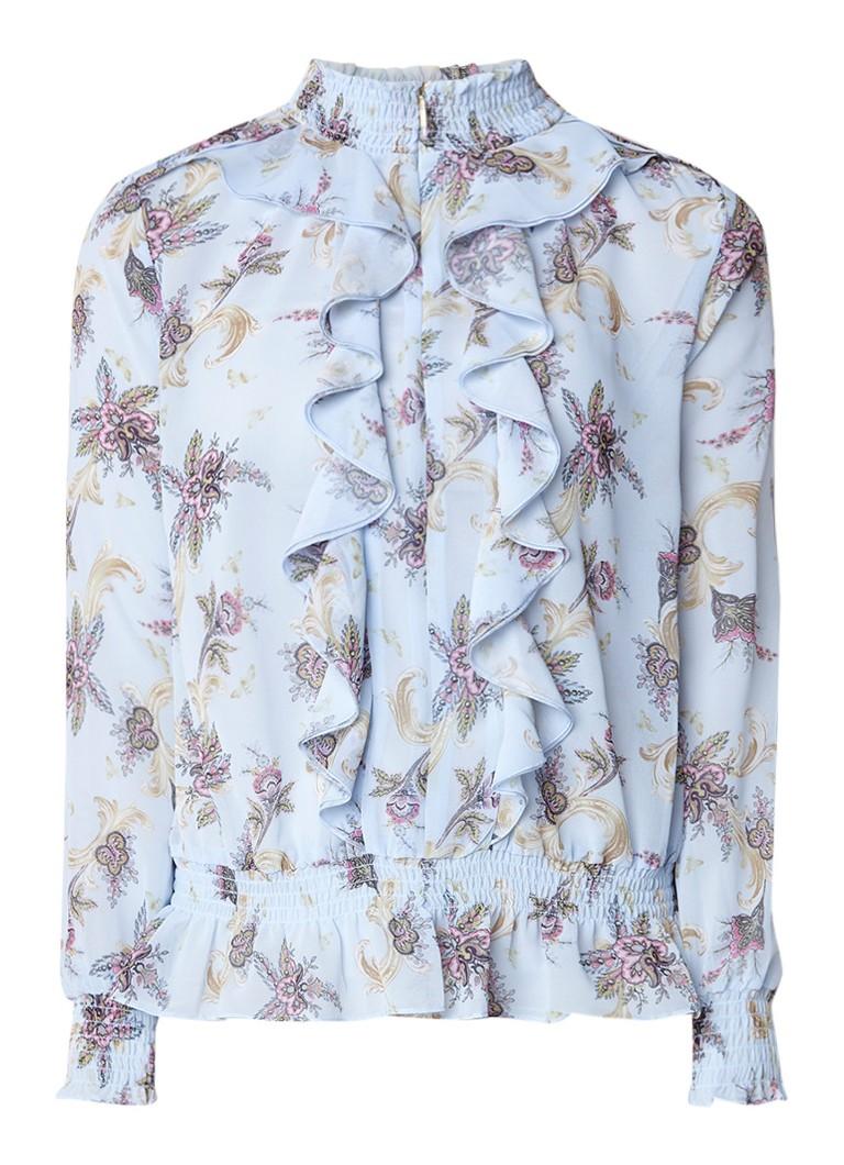Ted Baker Jorliee semi-transparante blouse met gesmockt detail