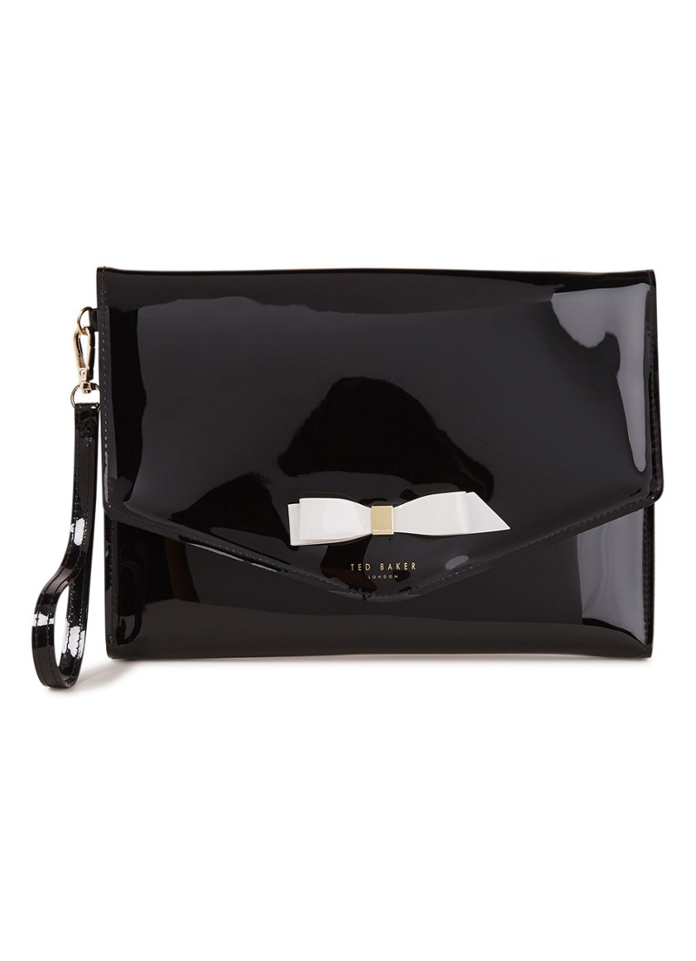 Image of Ted Baker Cersei clutch met strikdetail
