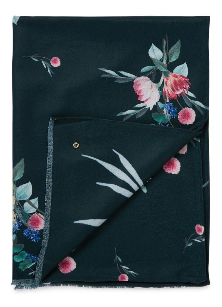 Image of Ted Baker Venesaa sjaal met bloemendessin 200 x 70 cm