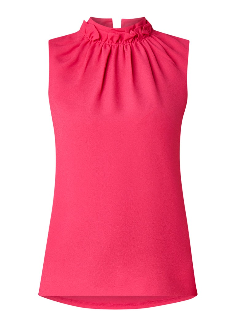 Image of Ted Baker Audrye mouwloze top met ruches