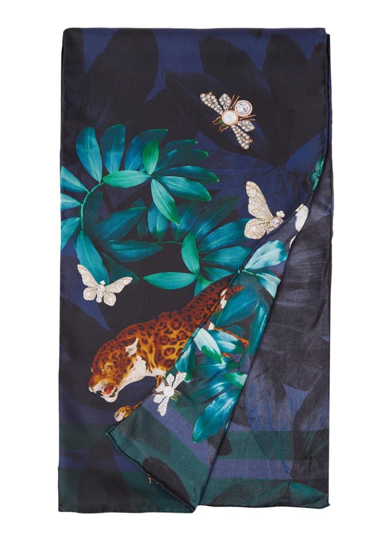 Image of Ted Baker Lellaa sjaal met dessin 130 x 25 cm