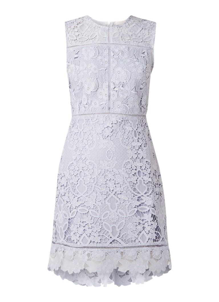 Ted Baker Primrse A-lijn jurk van kant lichtblauw