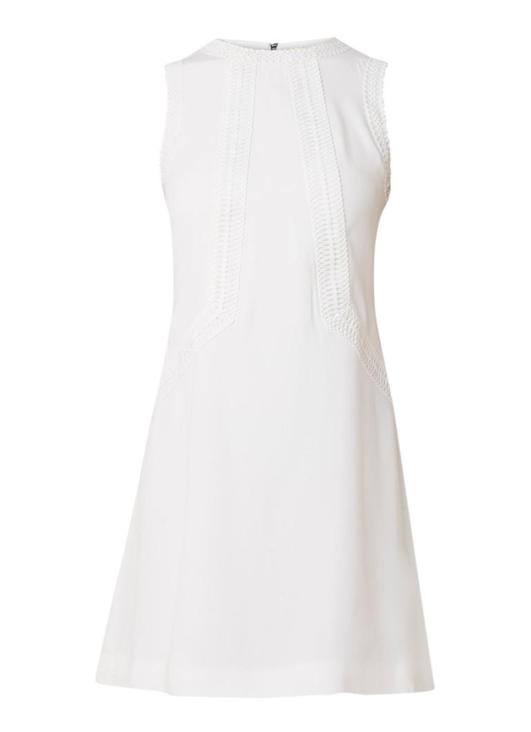 Ted Baker Sieera mini-jurk met broderie detail ivoor