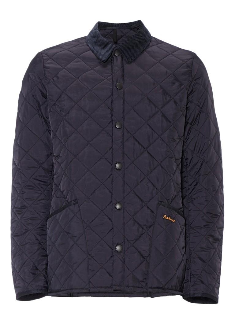 Barbour Liddesdale jacket met quilted details
