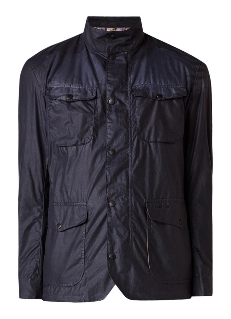 Barbour Lightweight Ogston Wax field jacket met coating