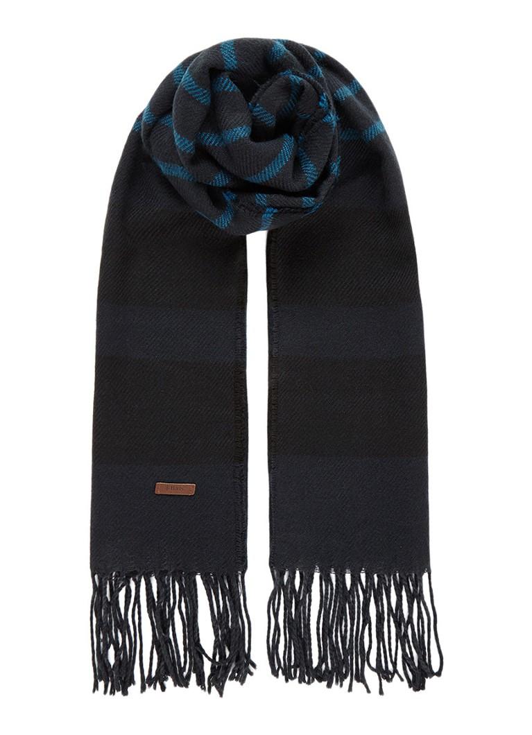Barts Twan sjaal met streepdessin 200 x 60 cm