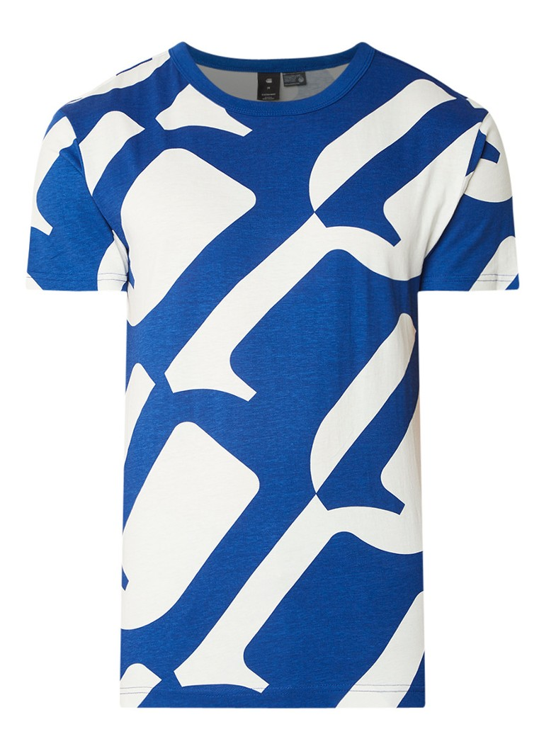 G-Star RAW Regular fit T-shirt met dessin