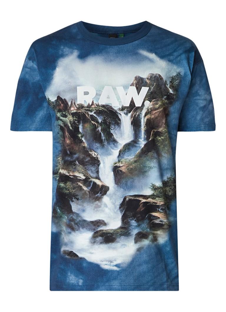 G-Star RAW Cyrer Water T-shirt met dessin