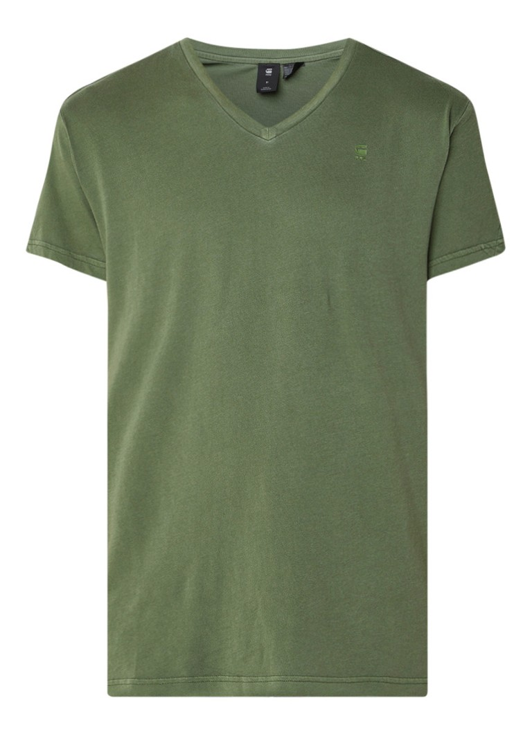 G-Star RAW Starkon relaxed fit T-shirt met V-hals