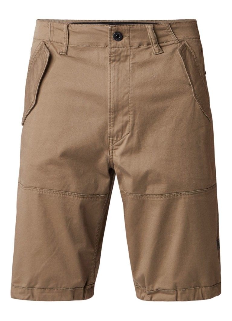 G-Star RAW Rovic loose fit cargo shorts met verstelbare zoom