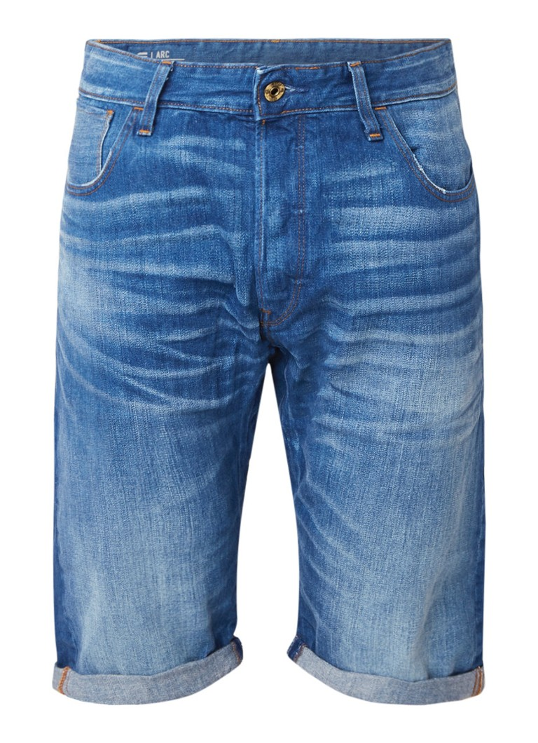 G-Star RAW Arc 3D 1 2 straight fit denim short