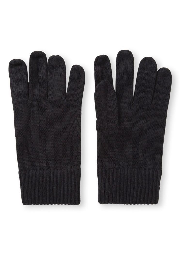 Tommy Hilfiger Pima handschoenen in kasjmierblend
